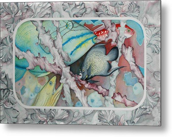 Saving The Reefs II Metal Print by Liduine Bekman