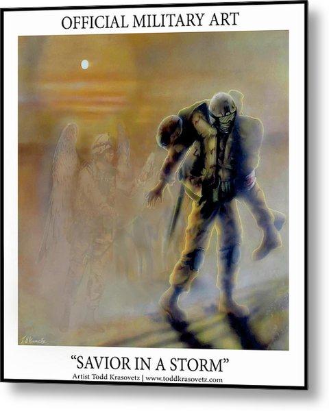 Savior In A Storm Metal Print