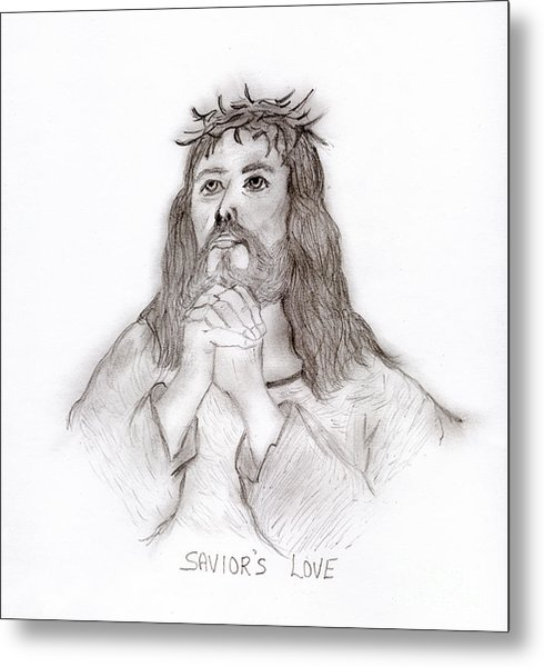 Savior's Love Metal Print
