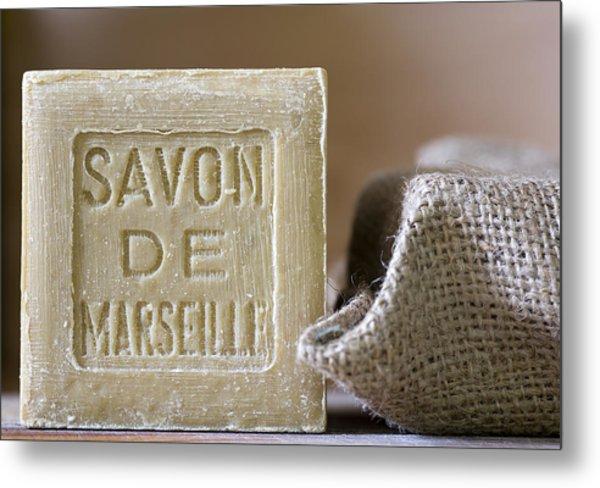Savon De Marseille Metal Print
