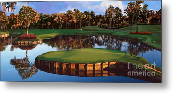 Sawgrass 17th Hole Hol Metal Print