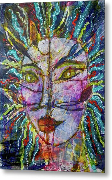 Scarred Beauty Metal Print