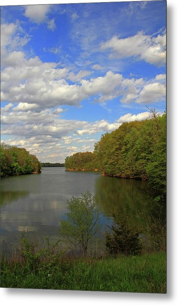 Scattered Clouds Metal Print