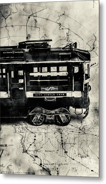 Scene From The Old Tramway Metal Print