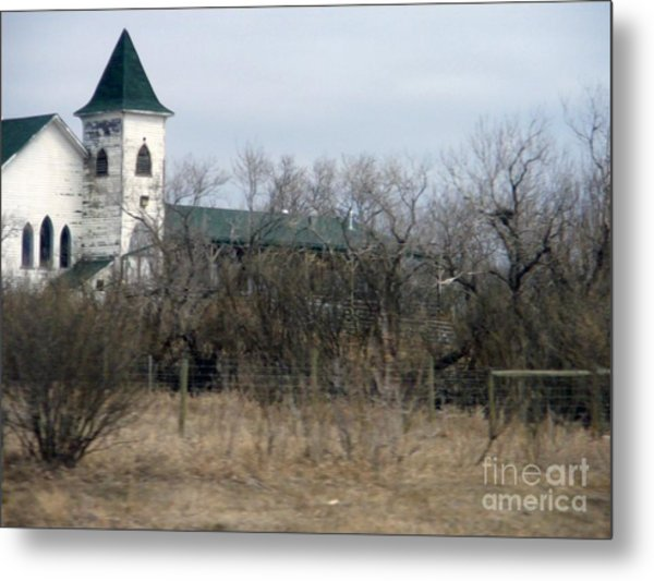 Scene From The Praries Metal Print