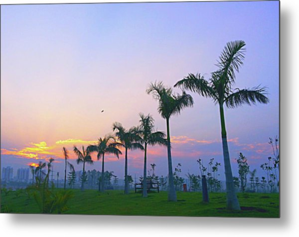 Scenic Beauty Metal Print