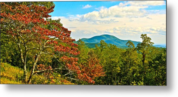 Scenic Overlook Blue Ridge Parkway Metal Print