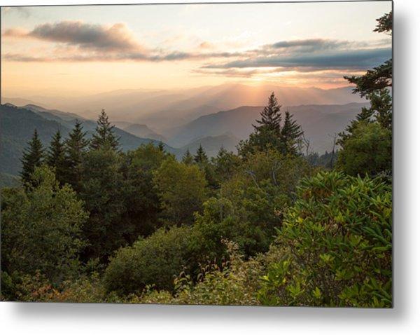 Scenic Smoky Mountains Metal Print by Doug McPherson