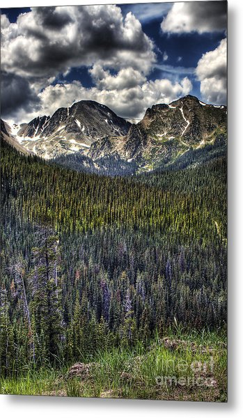 Scenic View From The Highway Metal Print