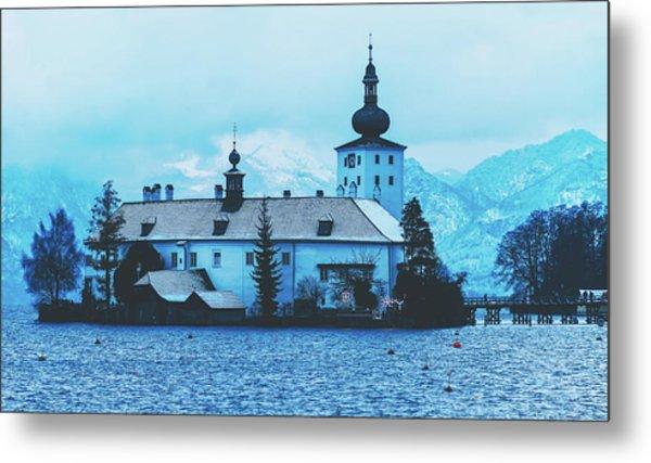 Schloss Ort, Gmunden Austria Metal Print