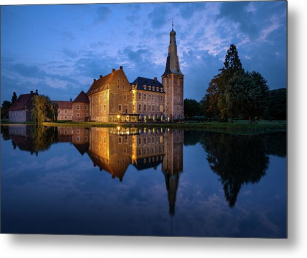 Schloss Raesfeld Metal Print