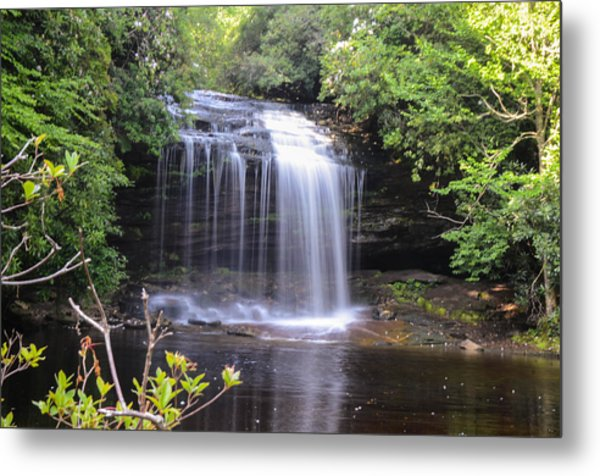 School House Falls Metal Print