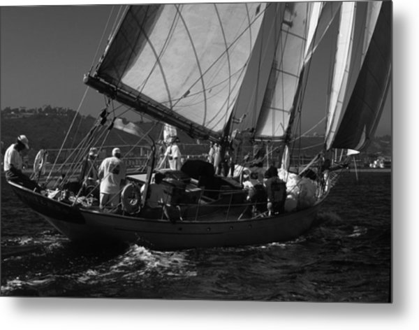 Schooner Dauntless Metal Print