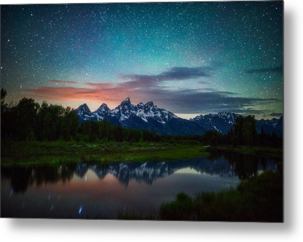 Schwabacher Nights Metal Print