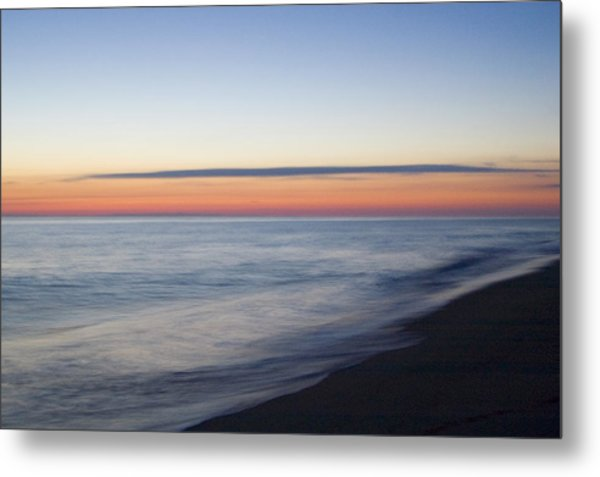Sciasconset Morning Nantucket Metal Print by Henry Krauzyk