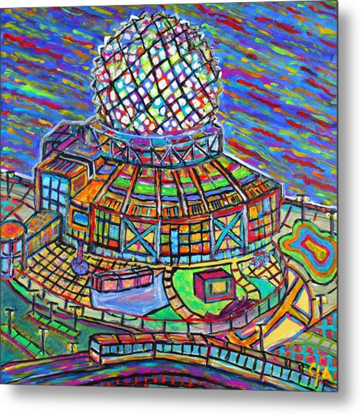 Science World, Vancouver, Alive In Color Metal Print