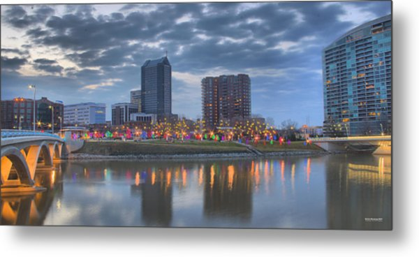 Metal Print featuring the photograph Scioto Morning 3567 by Brian Gryphon