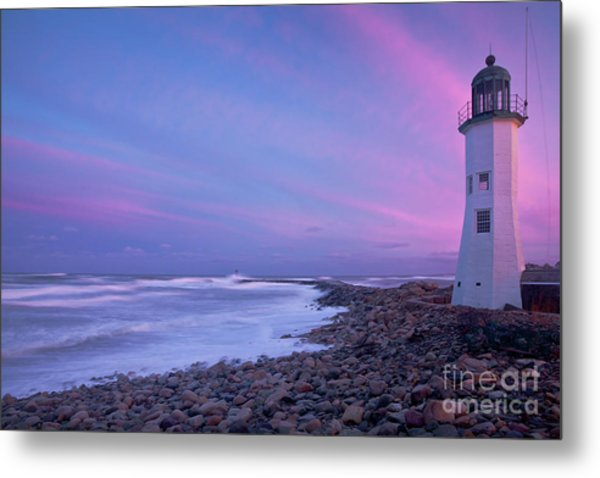 Scituate Sunset  Metal Print