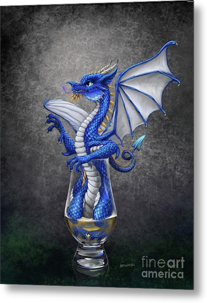 Scotch Dragon Metal Print