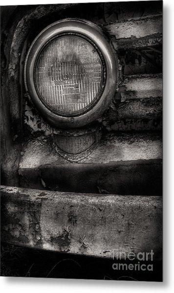 Scotopic Vision 7 - Headlight Metal Print