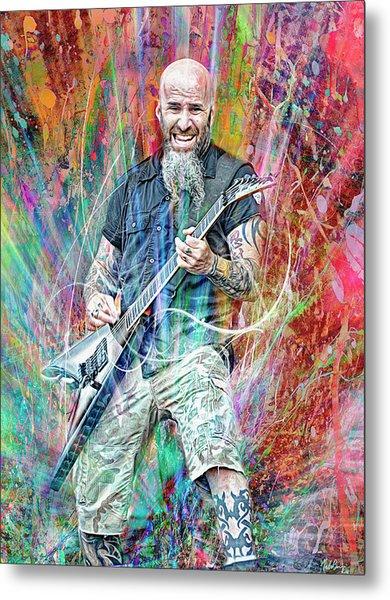 Scott Ian, Anthrax Metal Print