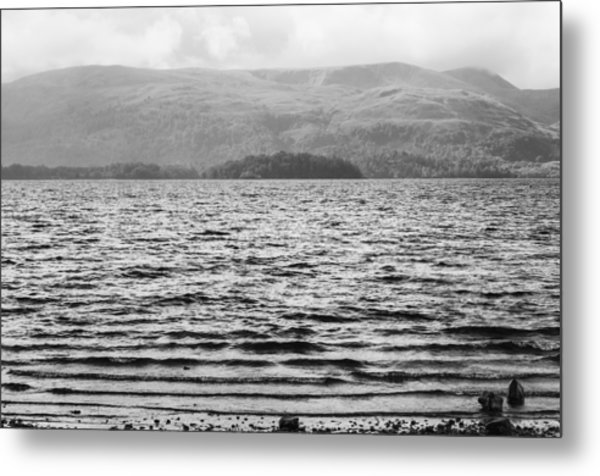 Metal Print featuring the photograph Scottish Shores by Christi Kraft