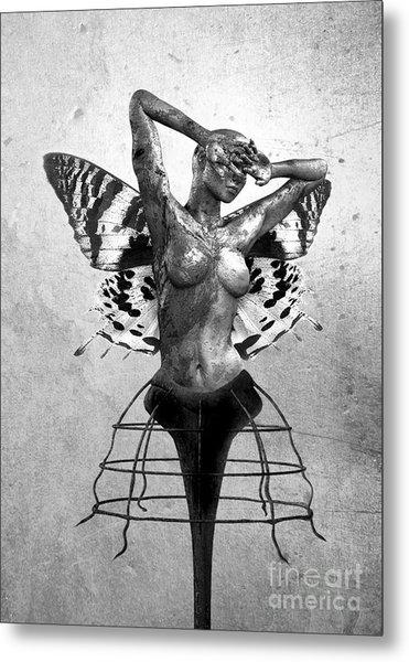 Scream Of A Butterfly II Metal Print