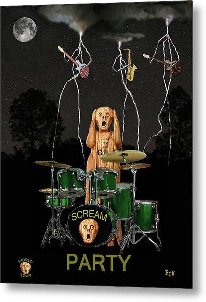 Scream Soul Tour Metal Print