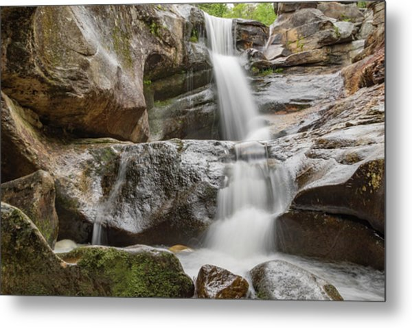 Screw Auger Falls I Metal Print