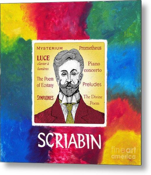 Scriabin Metal Print by Paul Helm