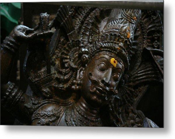 Sculpture Metal Print by Deepak Pawar