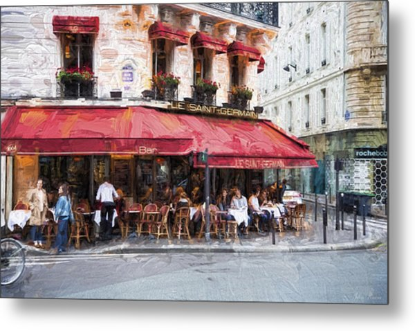 Le Saint Germain Metal Print