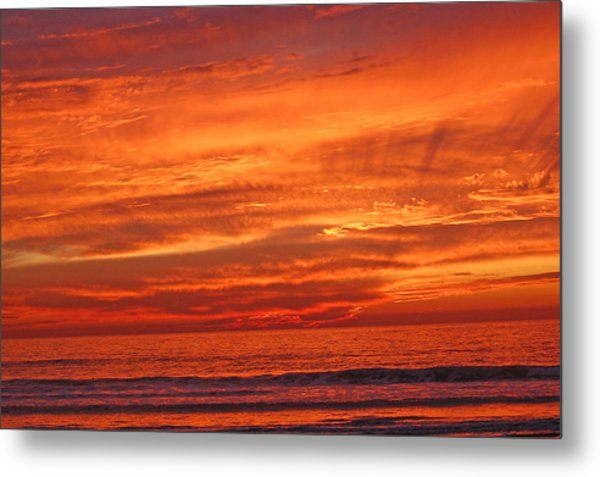 Sea And Sky Metal Print by Jean Booth