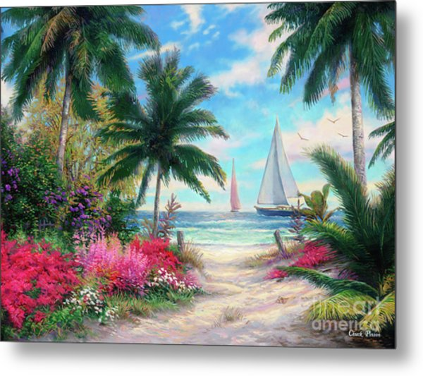 Sea Breeze Trail Metal Print