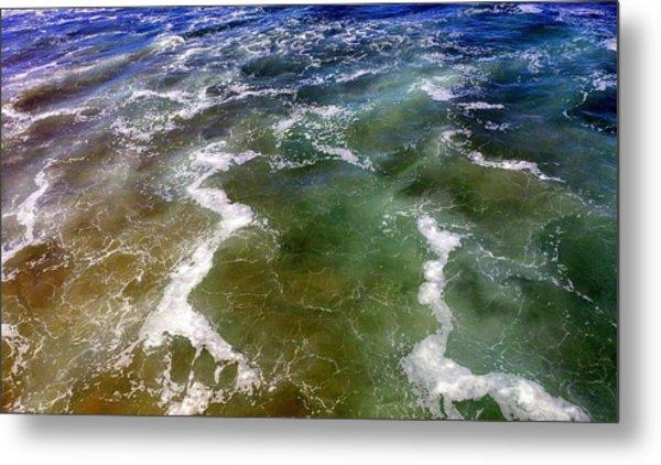 Artistic Ocean Photo Metal Print