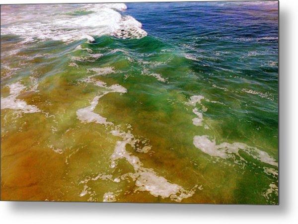 Colorful Ocean Photo Metal Print