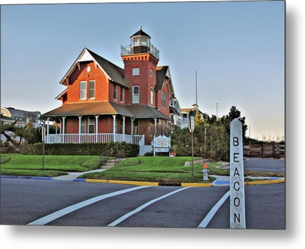 Sea Girt Light Station Metal Print