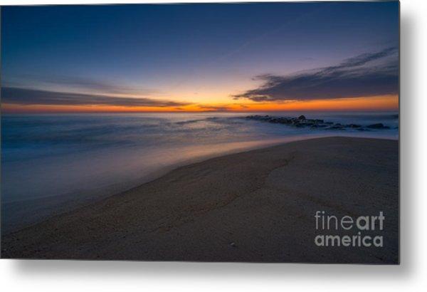 Sea Girt Sunrise New Jersey  Metal Print