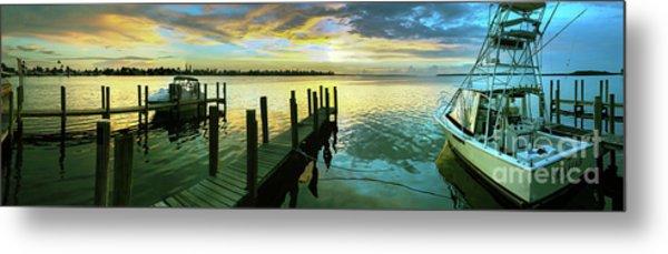 Sea Hab Panoramic Metal Print