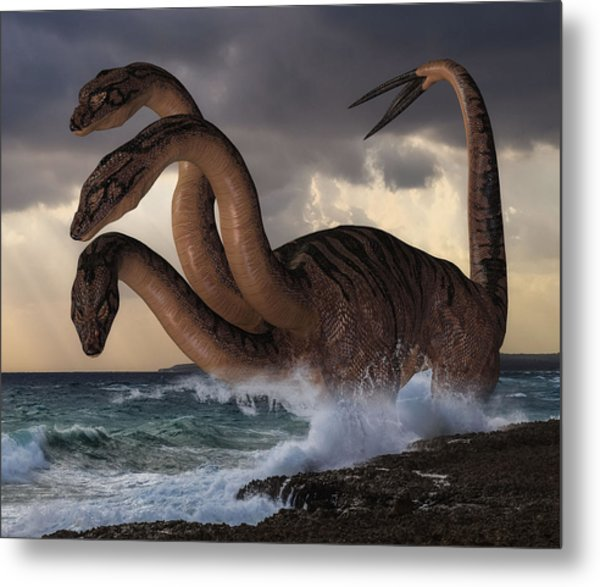 Sea Hydra Metal Print