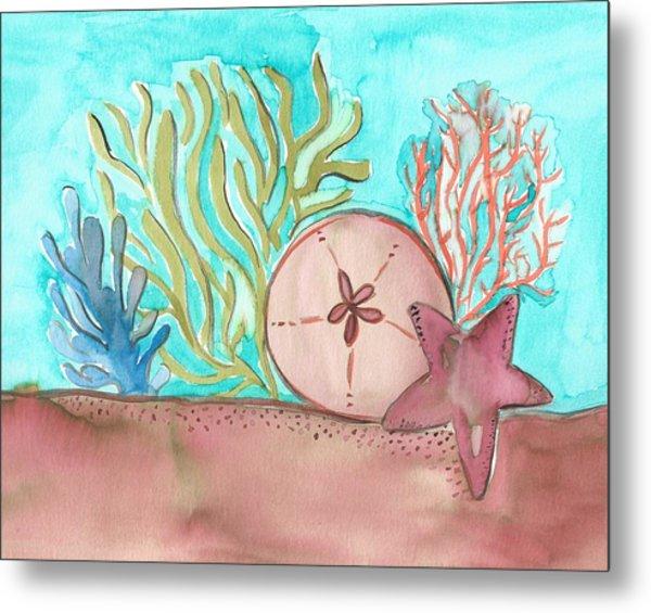 Sea Life II Metal Print