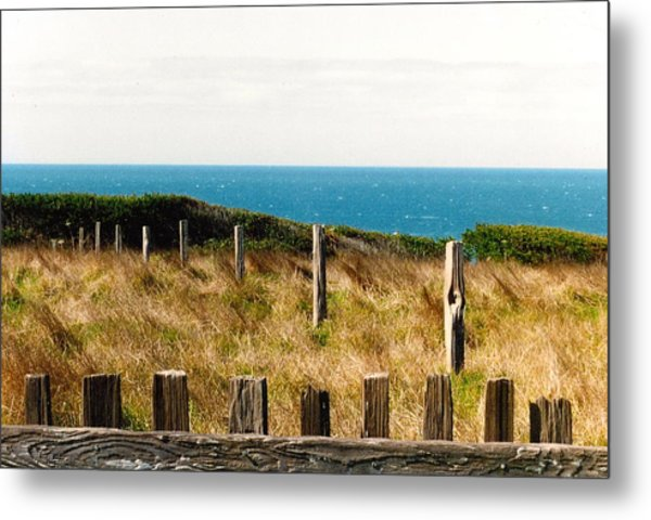 Sea Ranch Metal Print