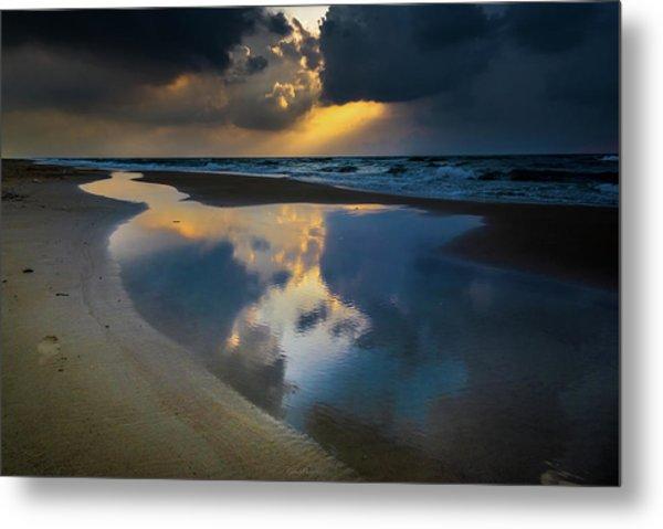 Sea Reflections Metal Print