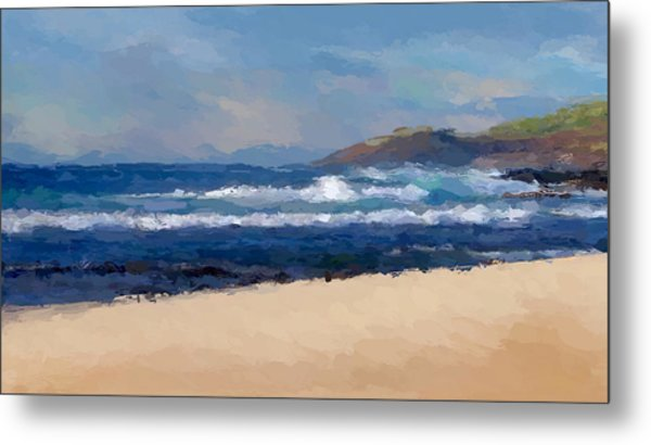 Sea Shore Metal Print