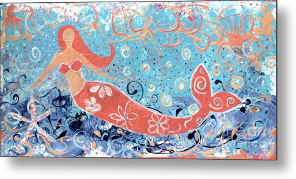 Sea Siren Metal Print