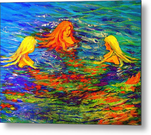 Sea Sisters Revisited Metal Print