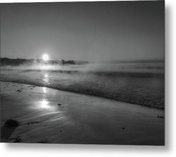 Sea Smoke Metal Print