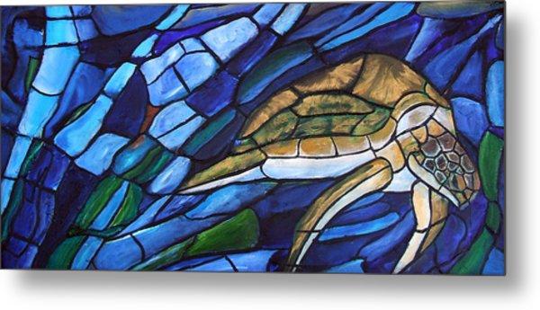 Sea Turtle I Metal Print by David McGhee