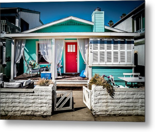 Metal Print featuring the photograph Seafoam Shanty by T Brian Jones