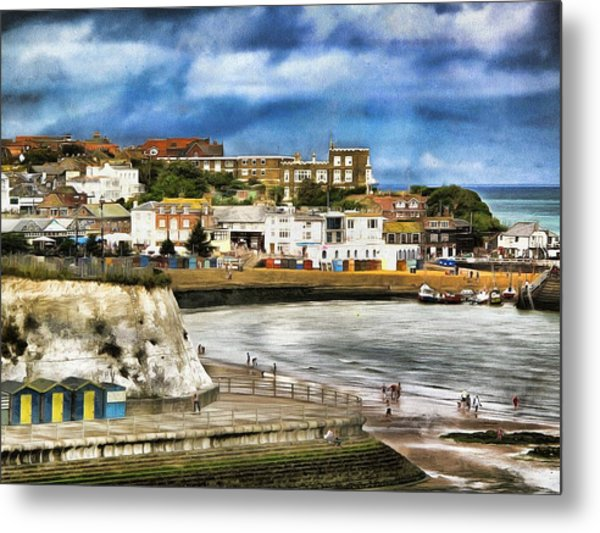 Seafront Broadstairs Kent Metal Print